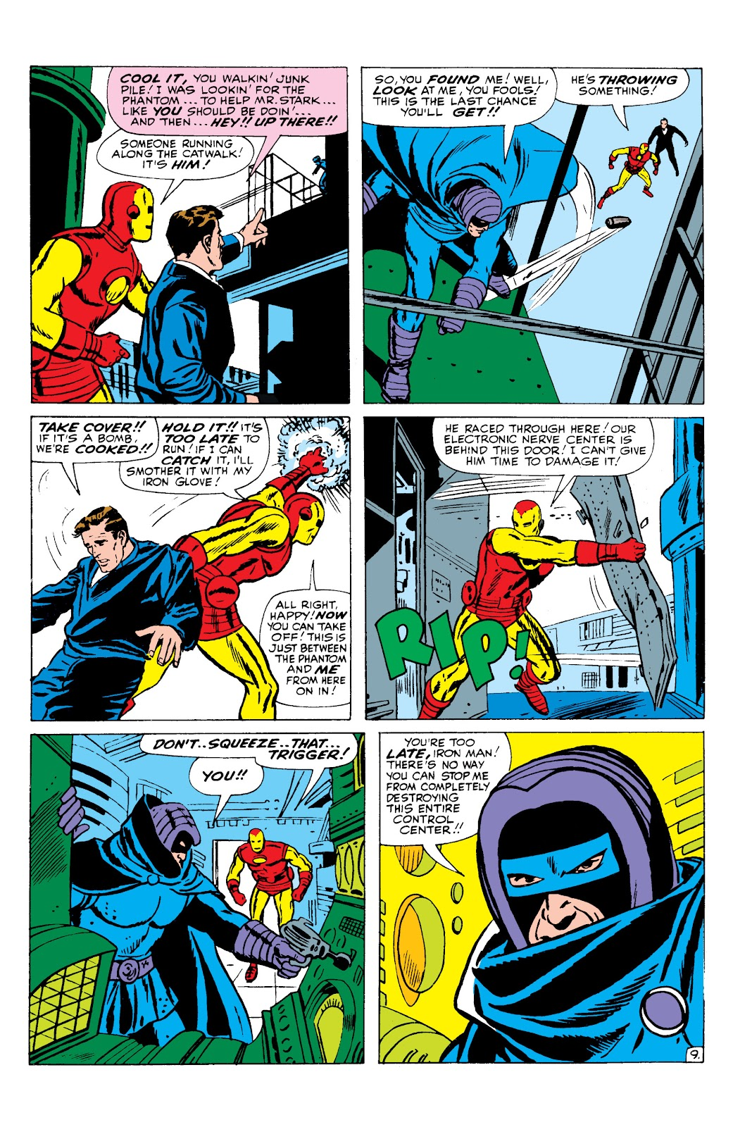 Read online Marvel Masterworks: The Invincible Iron Man comic -  Issue # TPB 2 (Part 3) - 9