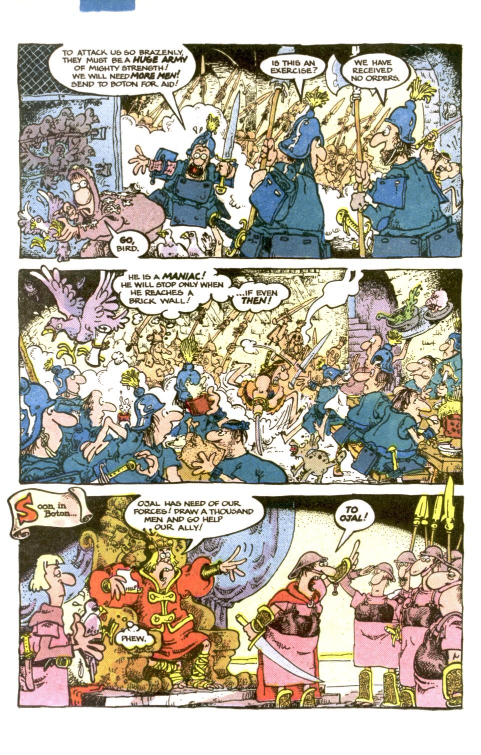Read online Sergio Aragonés Groo the Wanderer comic -  Issue #1 - 16