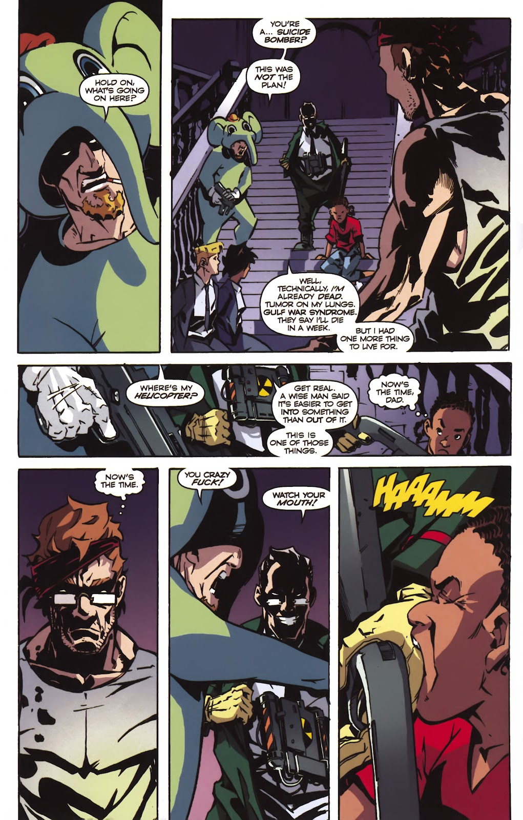 Read online Ricky Rouse Has A Gun comic -  Issue # TPB (Part 2) - 67