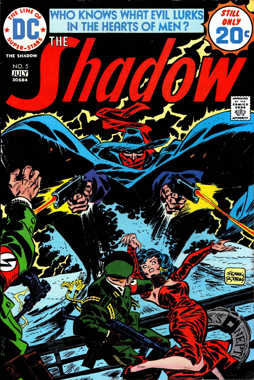 The Shadow (1973) issue 5 - Page 1