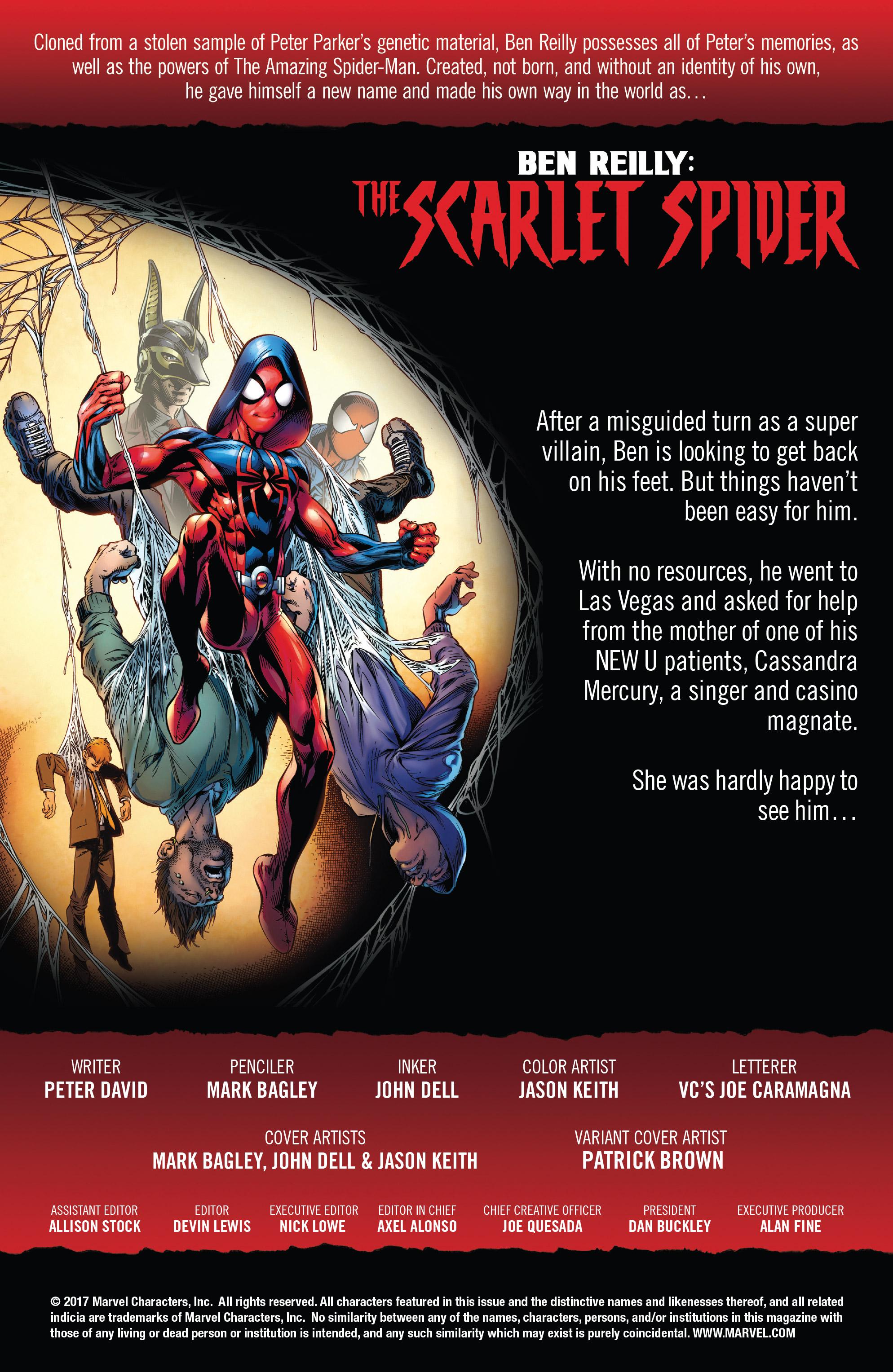 Read online Ben Reilly: Scarlet Spider comic -  Issue #2 - 2
