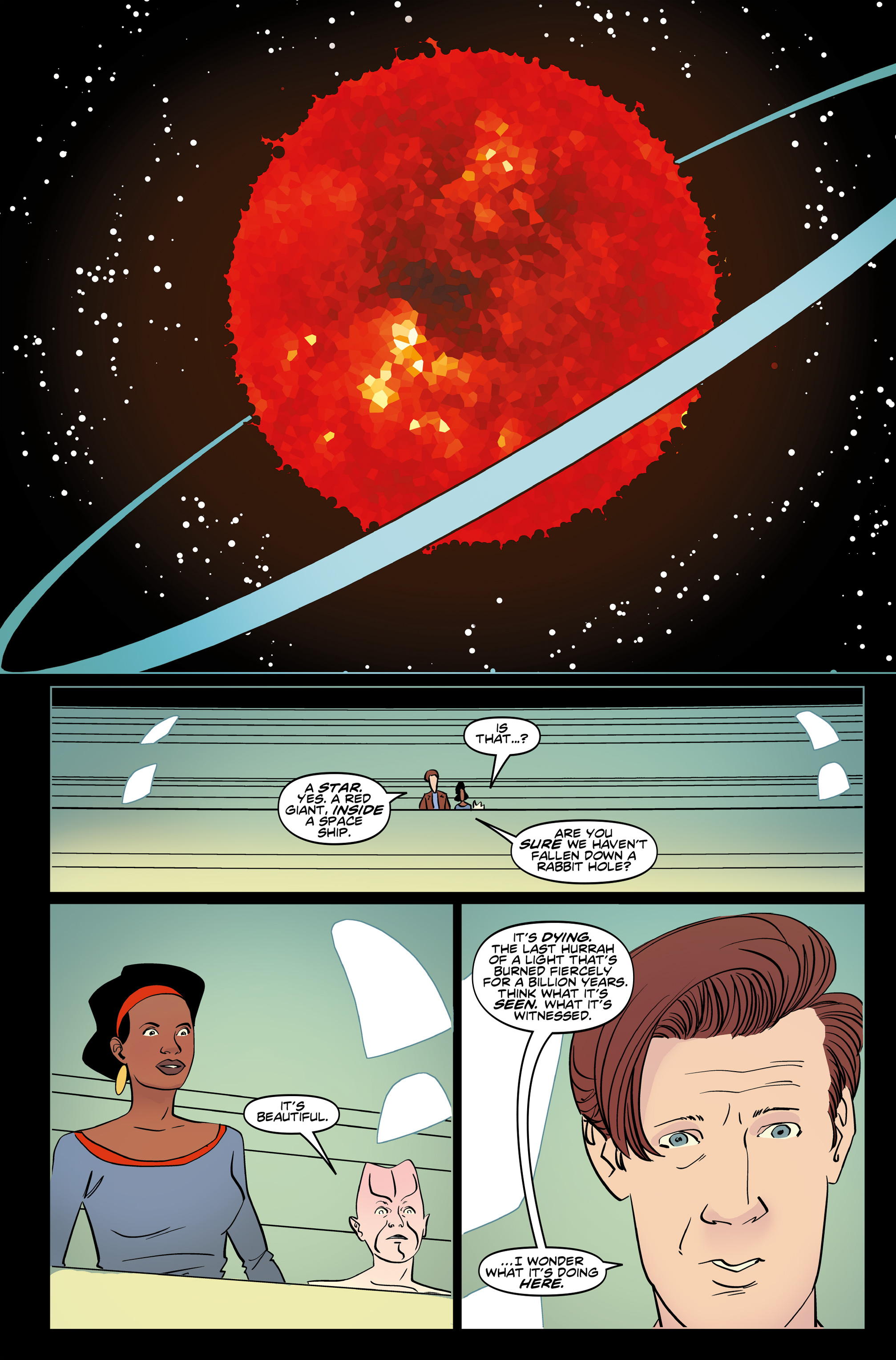 Read online Doctor Who: The Eleventh Doctor Year Three comic -  Issue #6 - 15