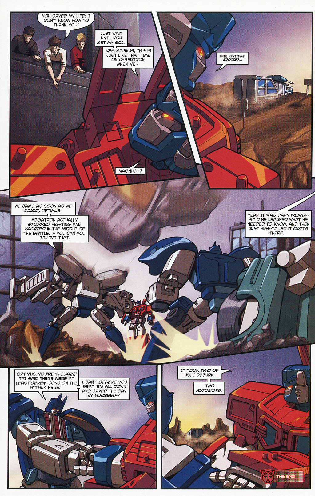 Read online Transformers 20th Anniversary Summer Special comic -  Issue # Full - 31
