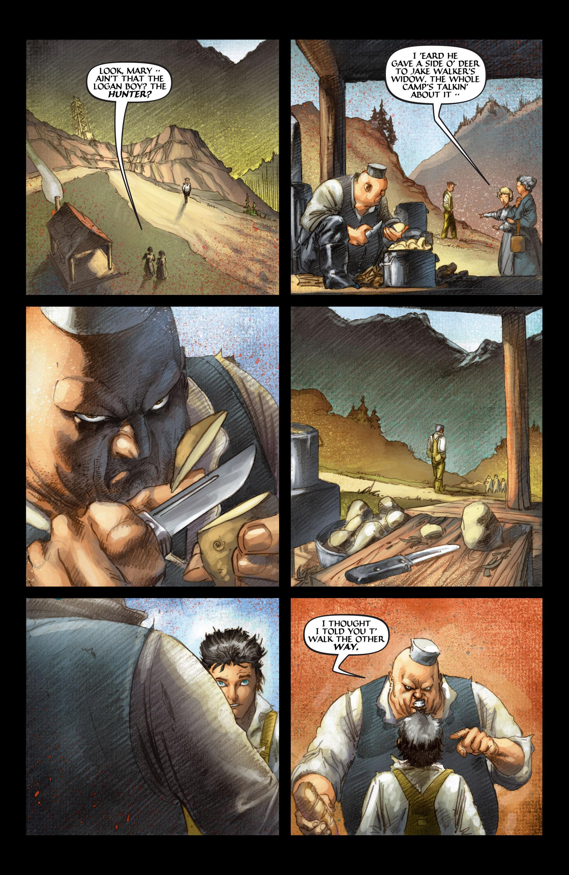 Read online Wolverine: The Origin comic -  Issue #4 - 20