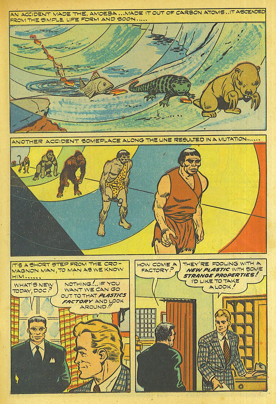 Read online Shadow Comics comic -  Issue #87 - 18