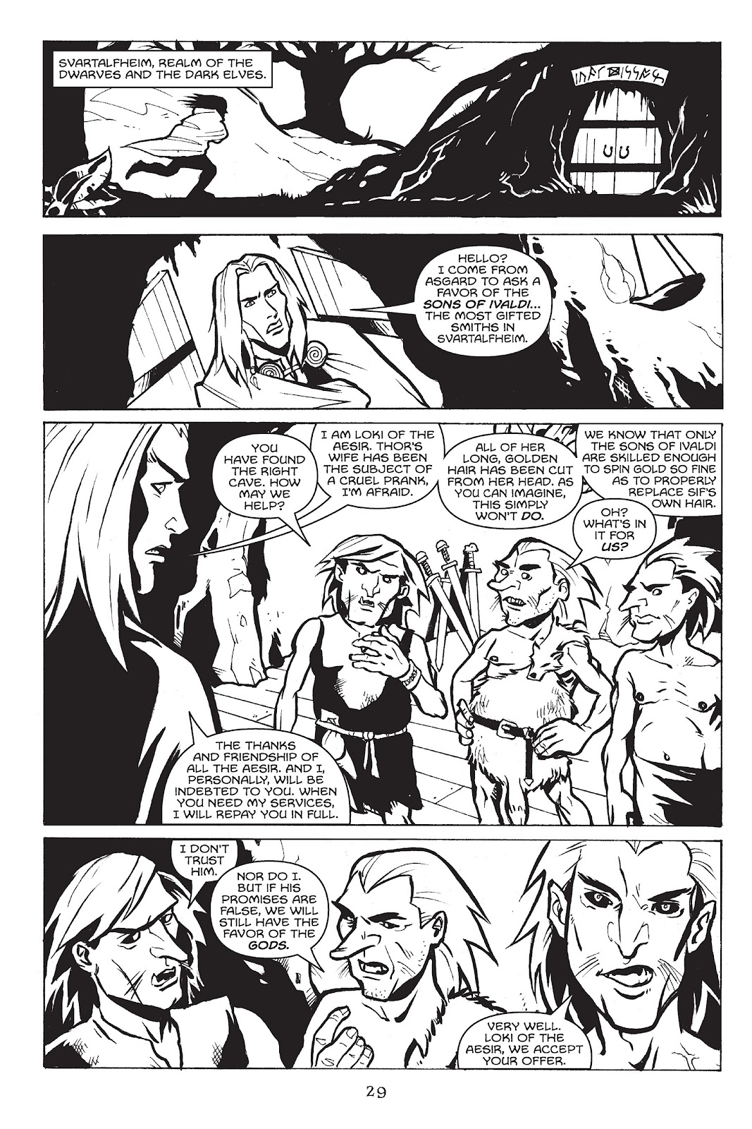 Read online Gods of Asgard comic -  Issue # TPB (Part 1) - 30