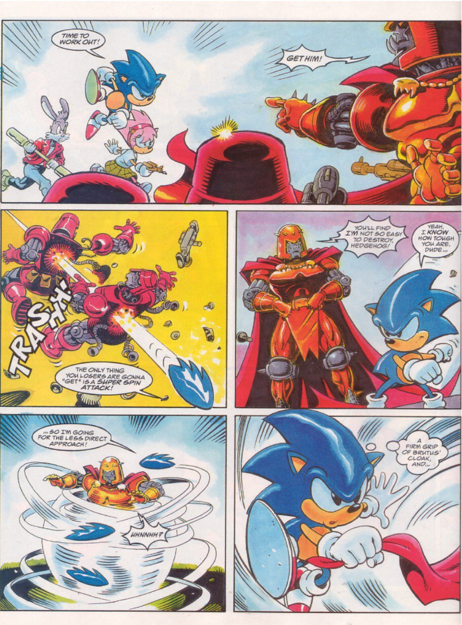 Read online Sonic the Comic comic -  Issue #64 - 6