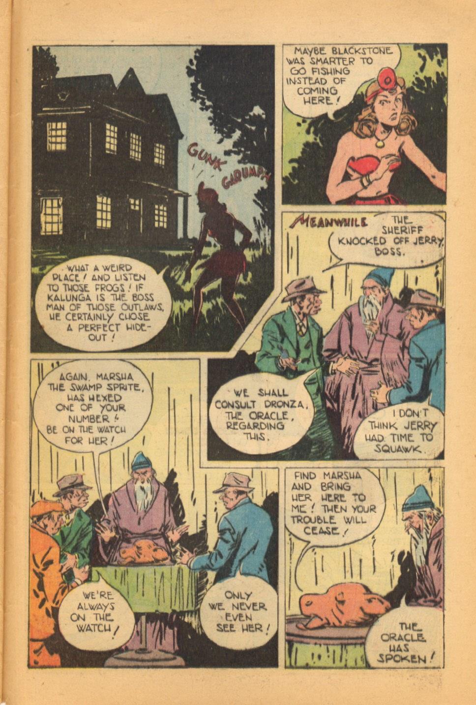 Read online Super-Magician Comics comic -  Issue #44 - 47
