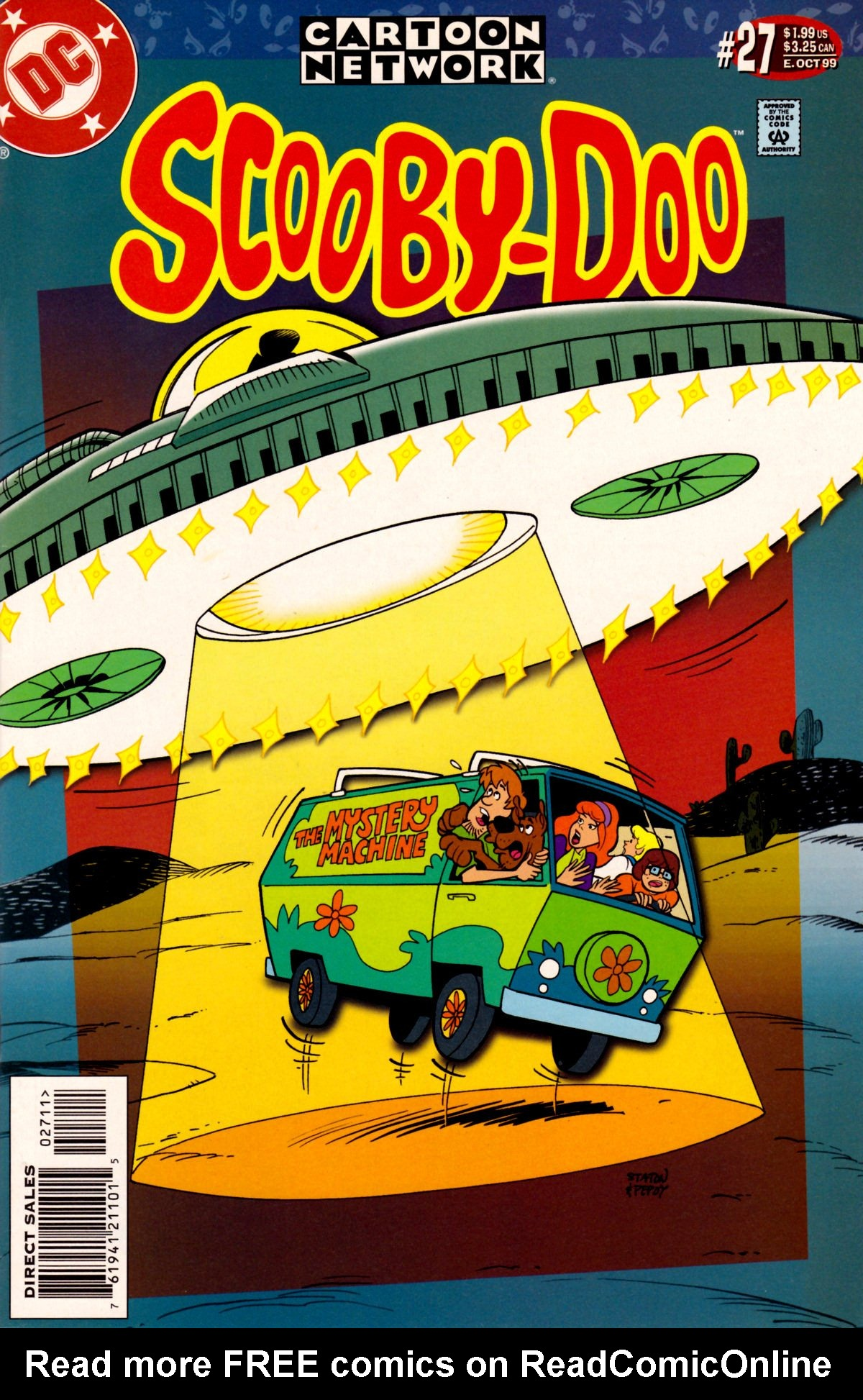 Read online Scooby-Doo (1997) comic -  Issue #27 - 1