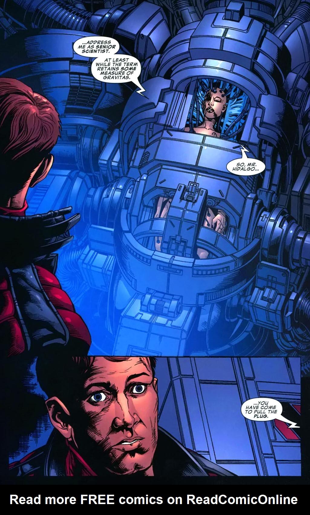 Read online Amazing Fantasy (2004) comic -  Issue #16 - 9