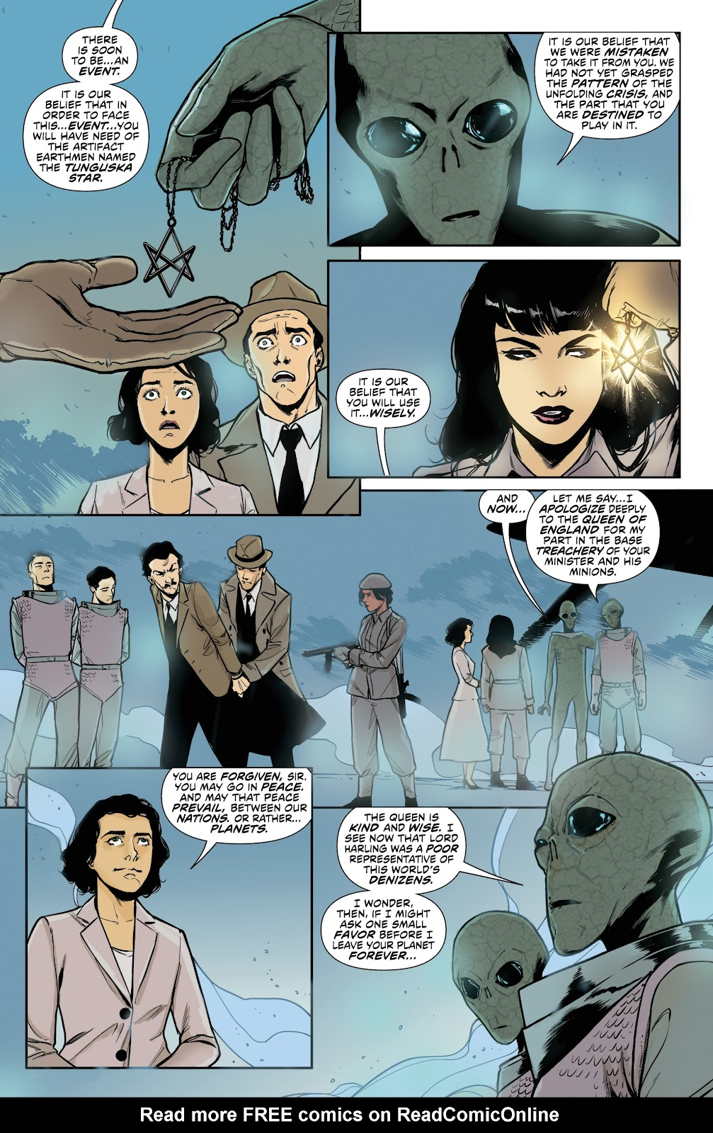 Read online Bettie Page (2018) comic -  Issue #4 - 23