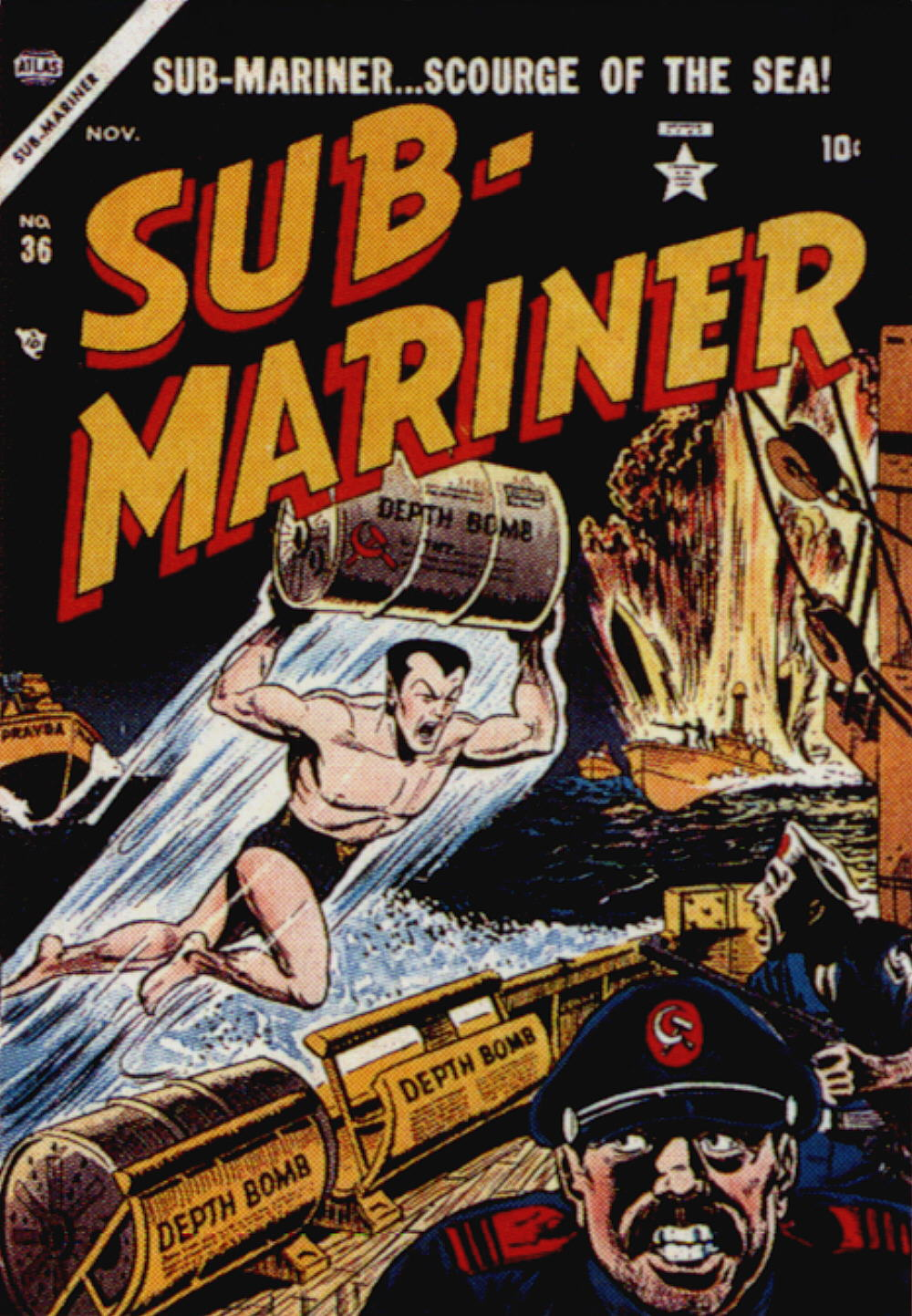 Sub-Mariner Comics 36 Page 1