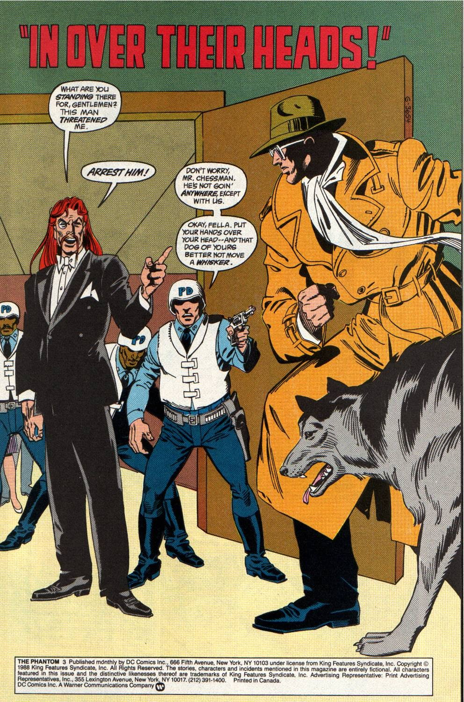 Read online The Phantom (1988) comic -  Issue #3 - 2