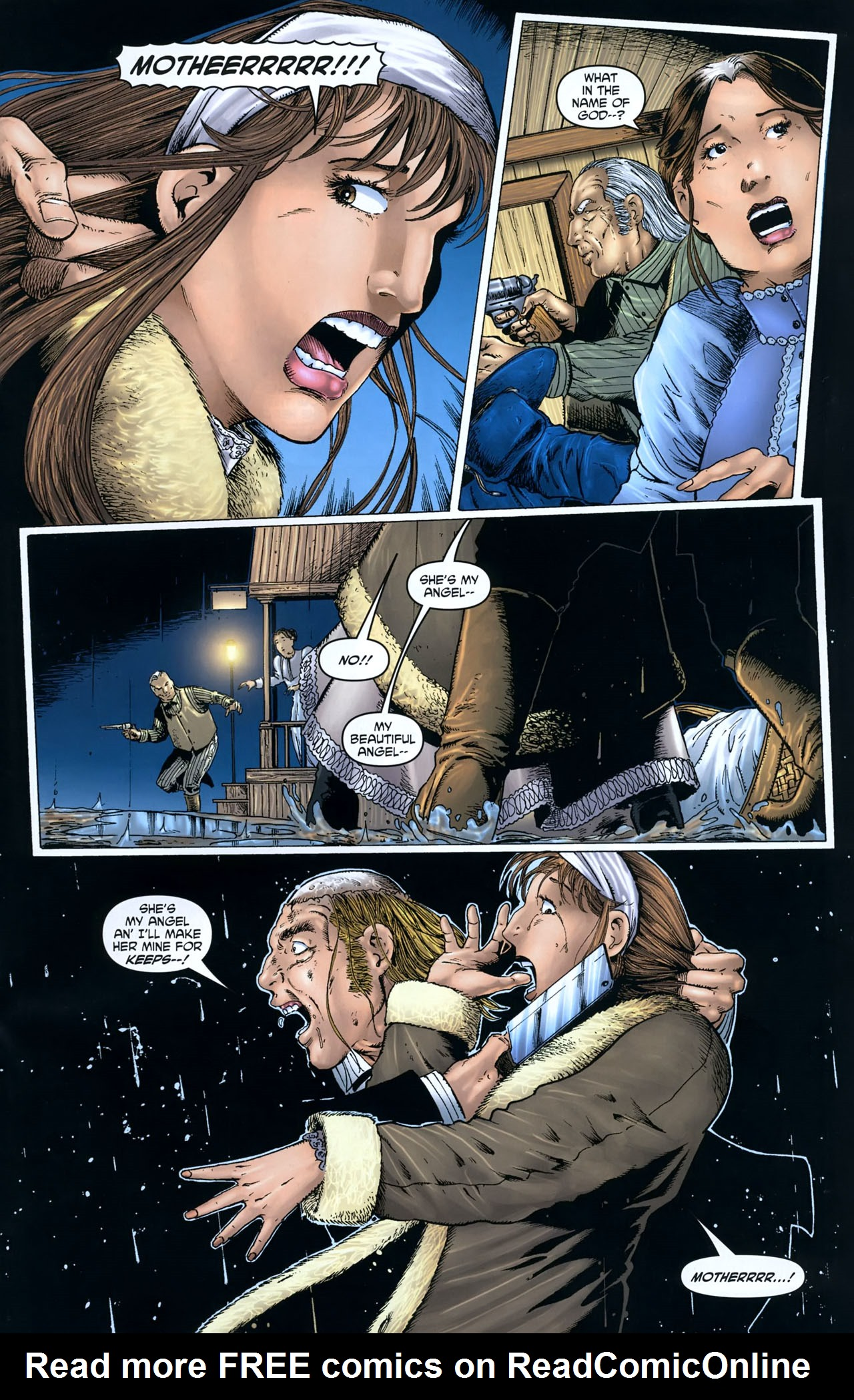 Read online Garth Ennis' Streets of Glory comic -  Issue #5 - 17