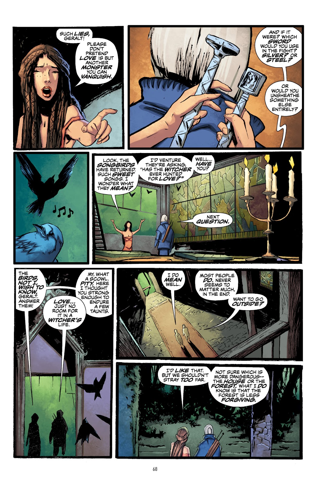 Read online The Witcher Omnibus comic -  Issue # TPB (Part 1) - 67