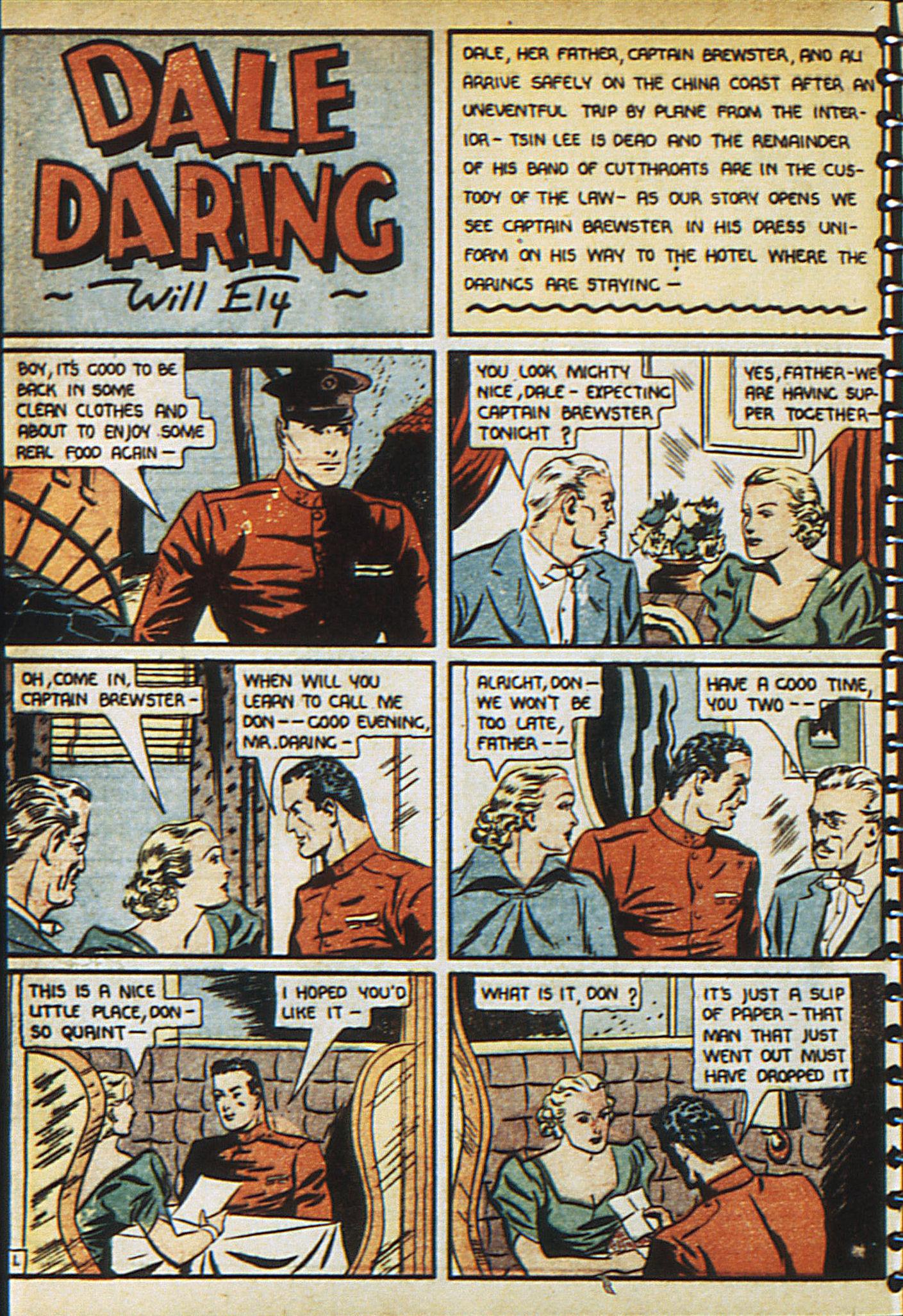 Read online Adventure Comics (1938) comic -  Issue #23 - 14