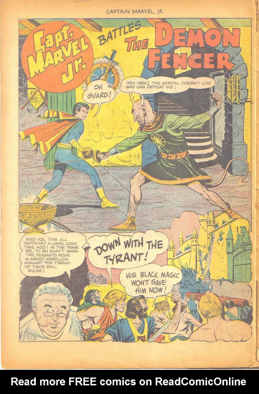 Captain Marvel, Jr. issue 95 - Page 41