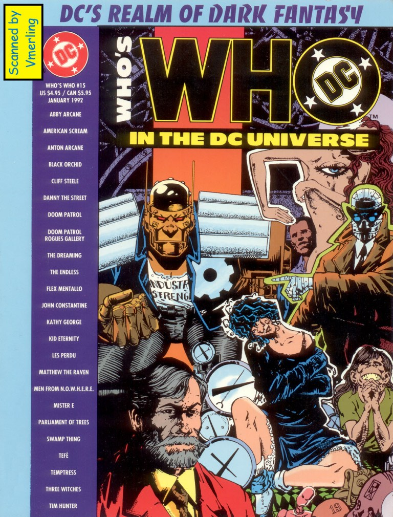 Whos Who in the DC Universe 15 Page 1