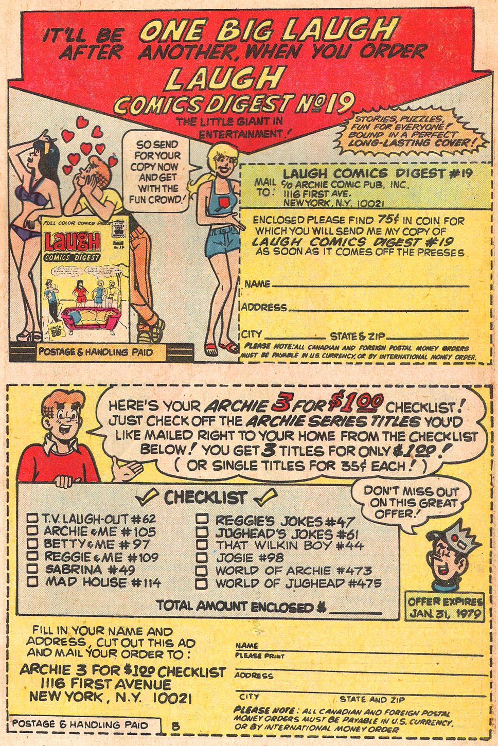 Read online Archie's Girls Betty and Veronica comic -  Issue #274 - 27