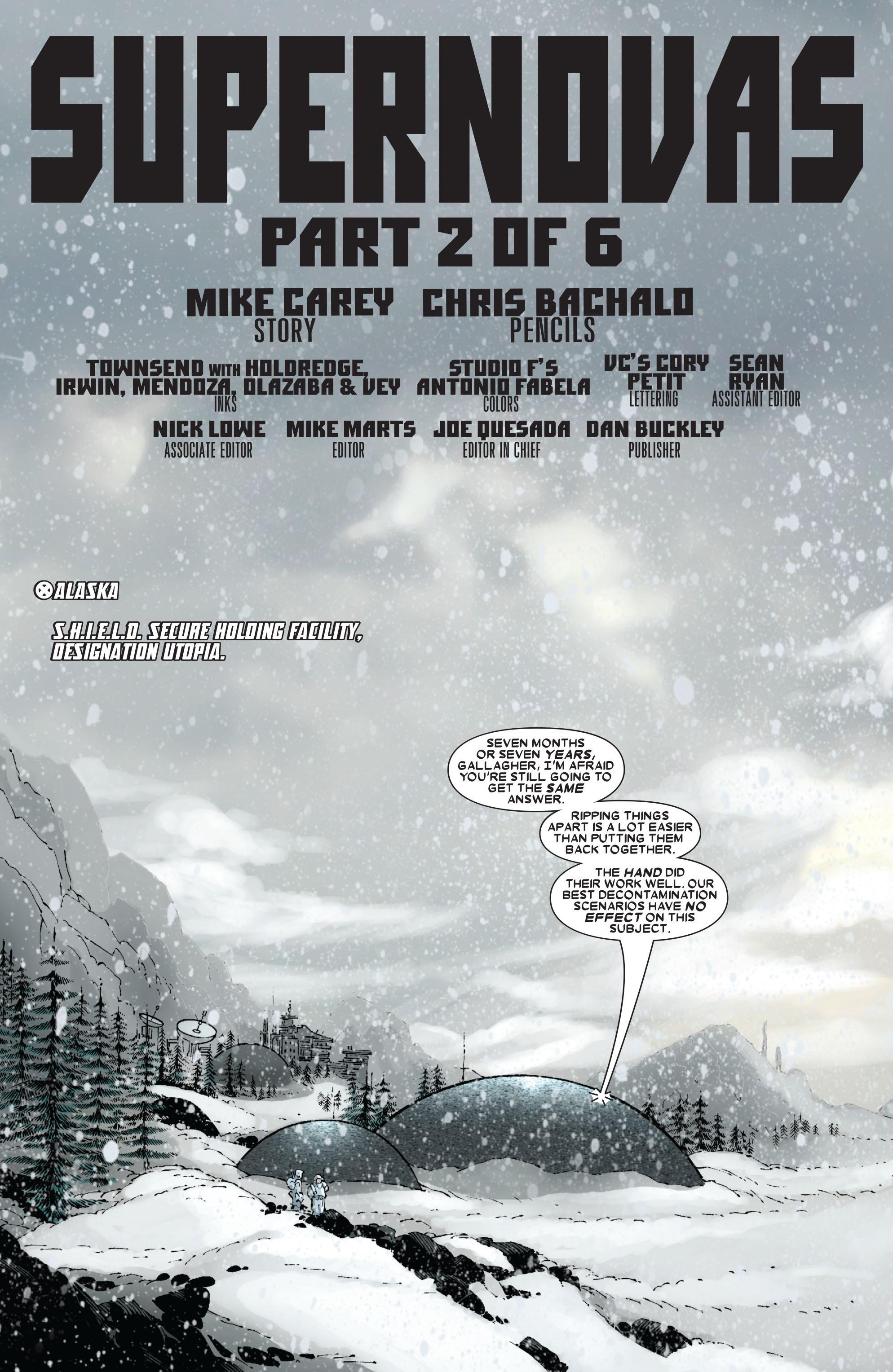 X-Men (1991) 189 Page 1