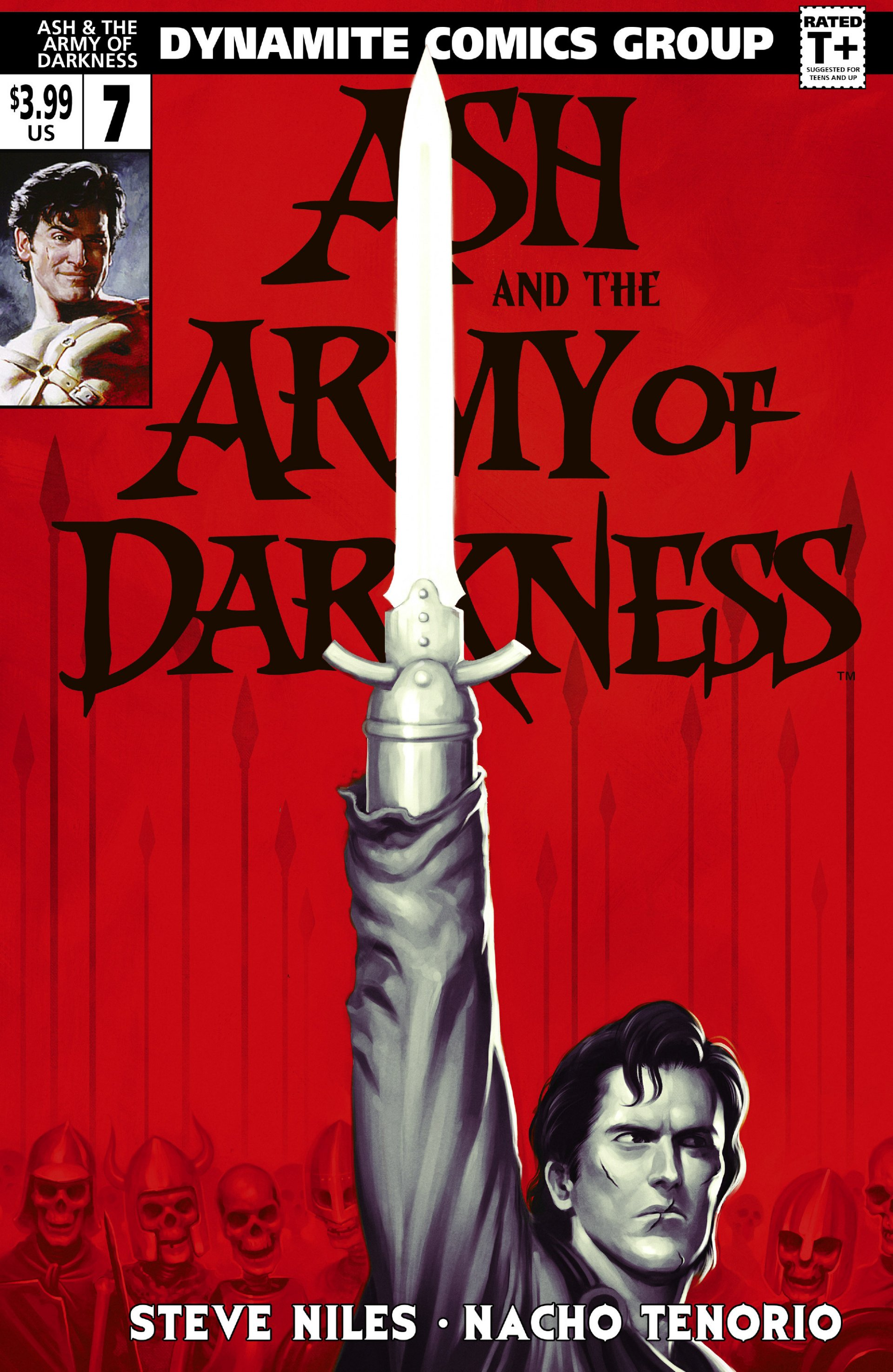 Read online Ash and the Army of Darkness comic -  Issue #7 - 1