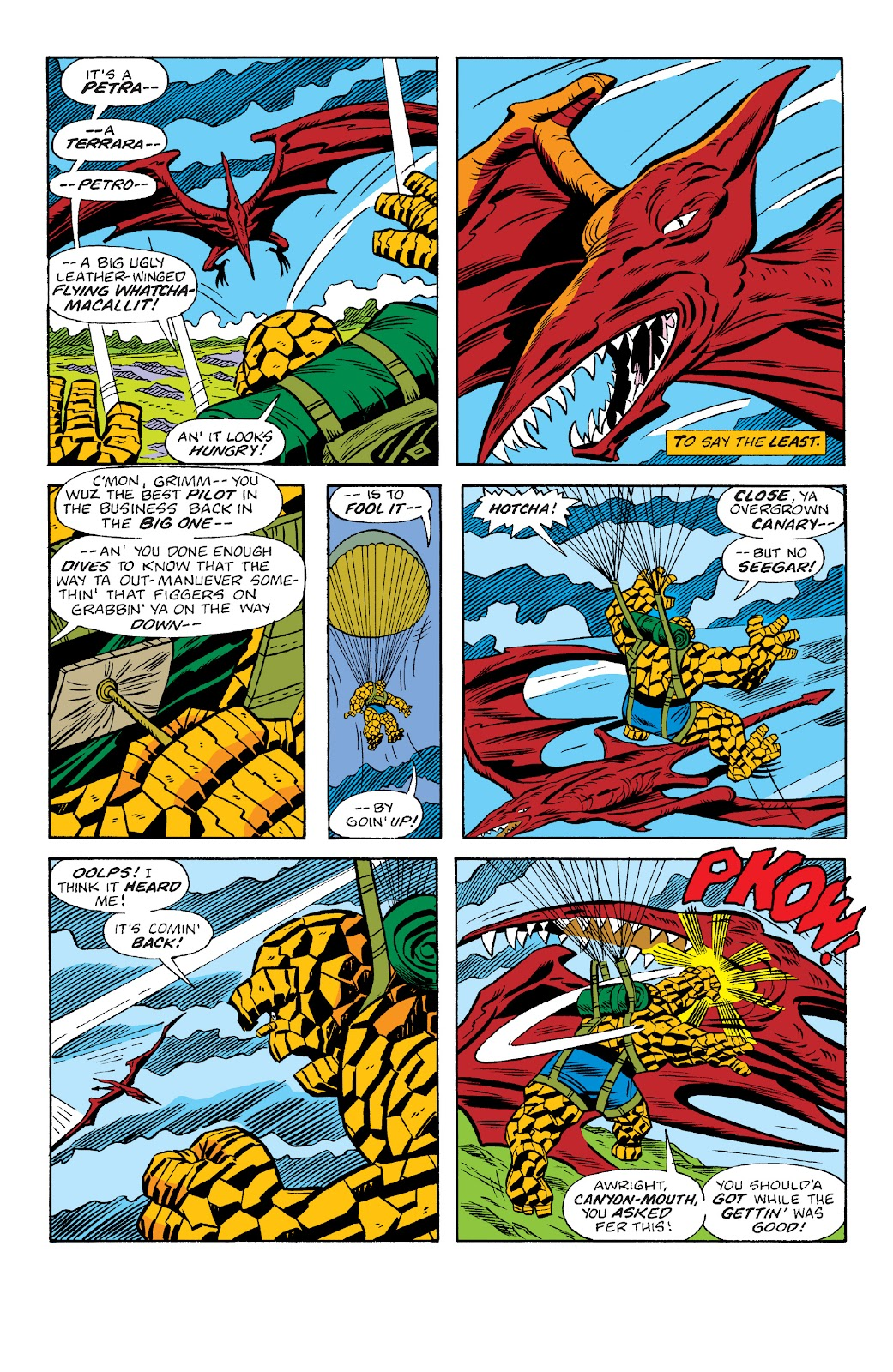 Read online Marvel Two-In-One Epic Collection: Cry Monster comic -  Issue # TPB (Part 4) - 34