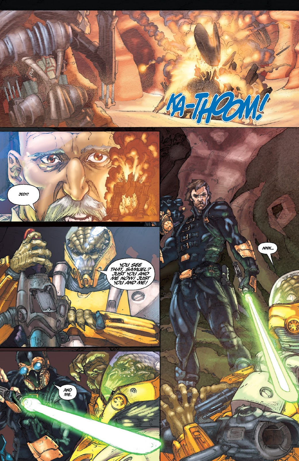 Read online Star Wars Legends Epic Collection: The Menace Revealed comic -  Issue # TPB (Part 5) - 1