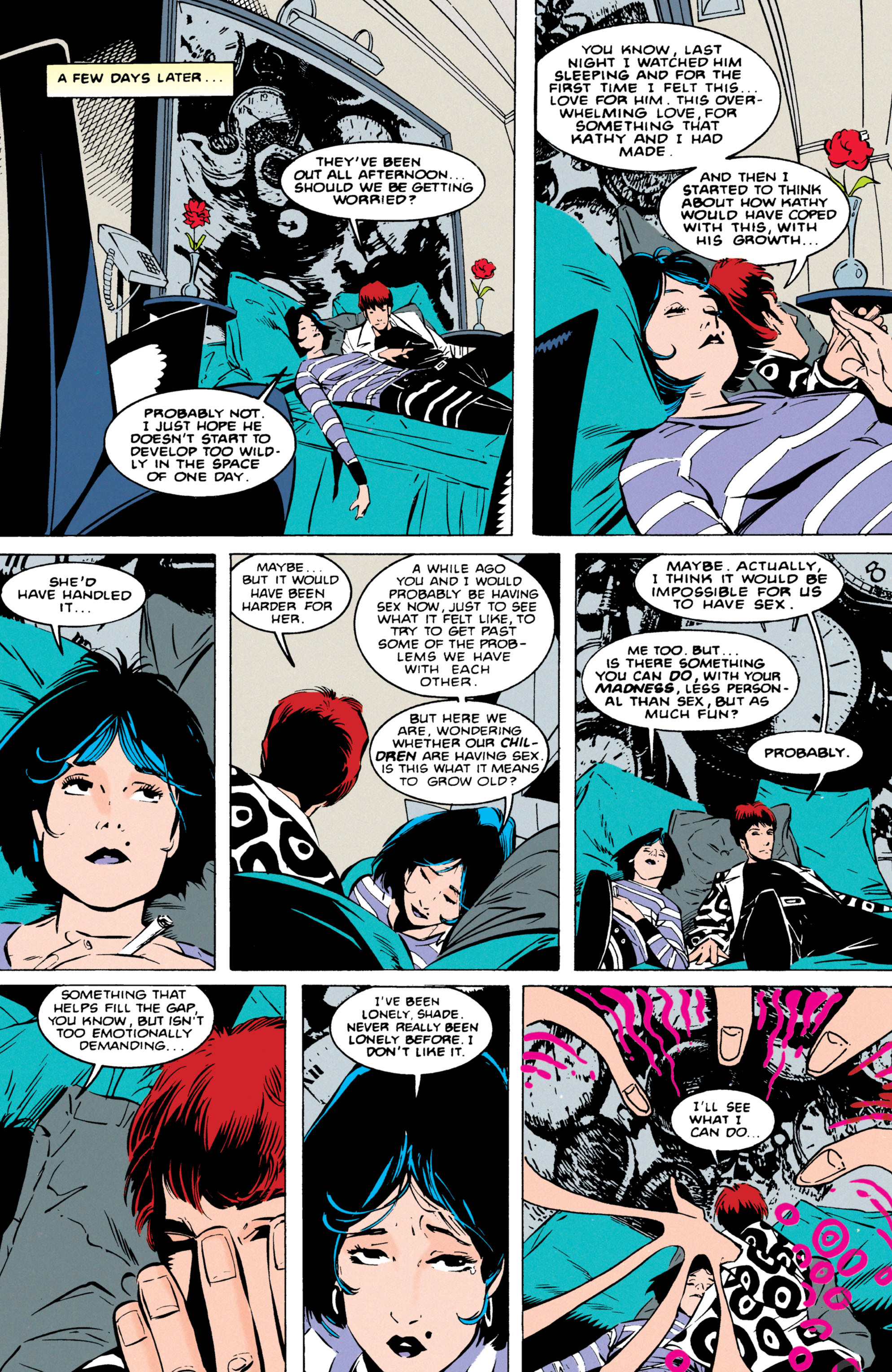 Read online Shade, the Changing Man comic -  Issue #55 - 18