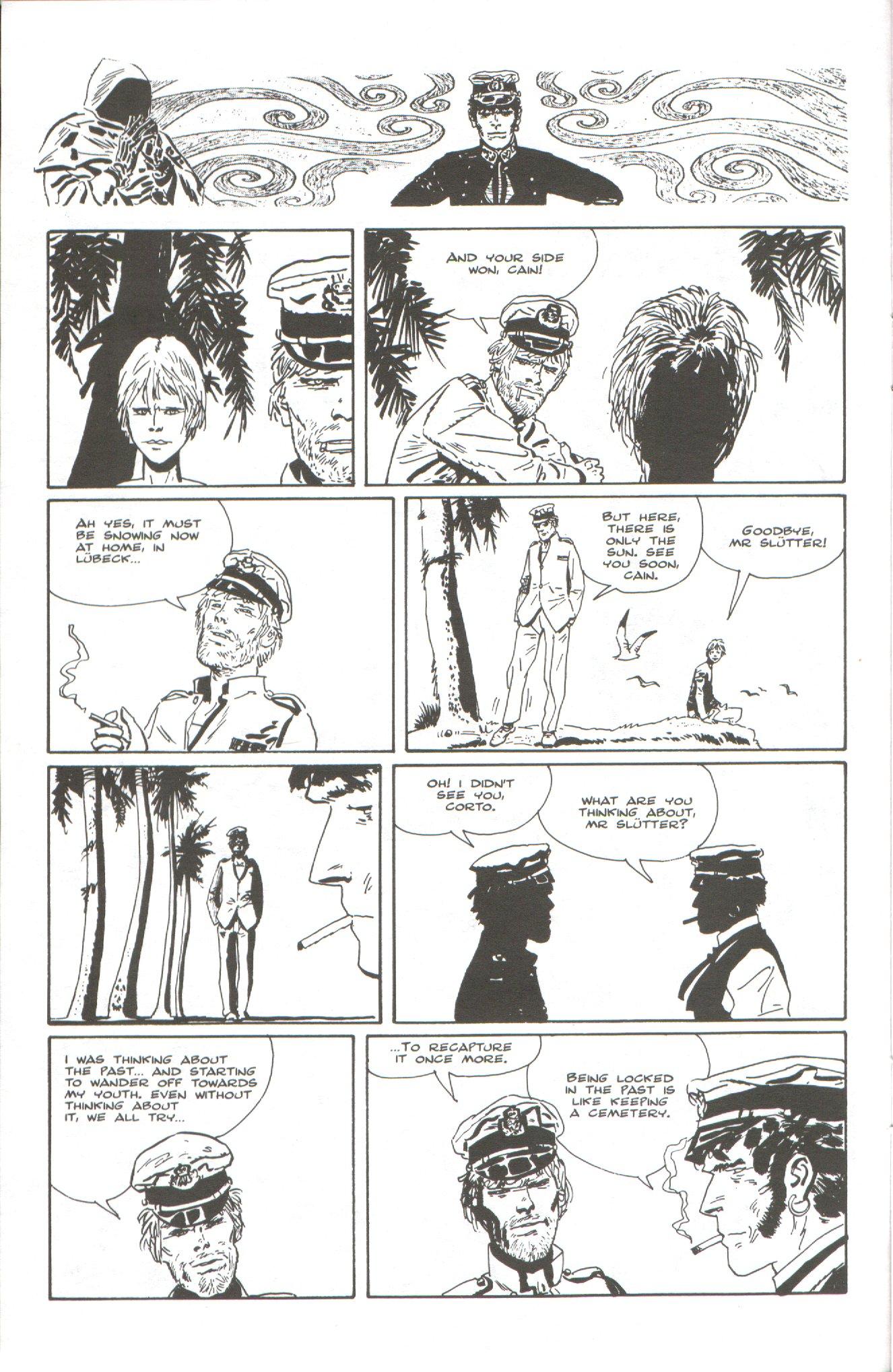 Read online Corto Maltese: Ballad of the Salt Sea comic -  Issue #6 - 10