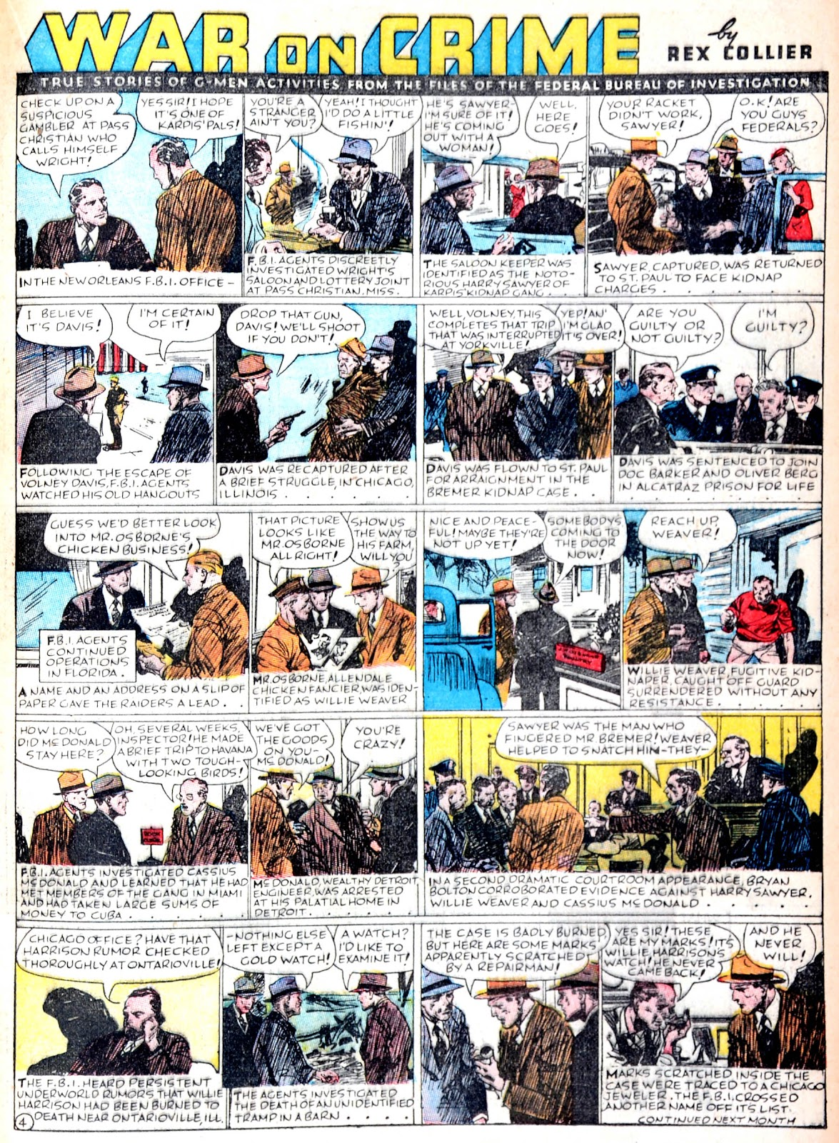 Read online Famous Funnies comic -  Issue #38 - 27
