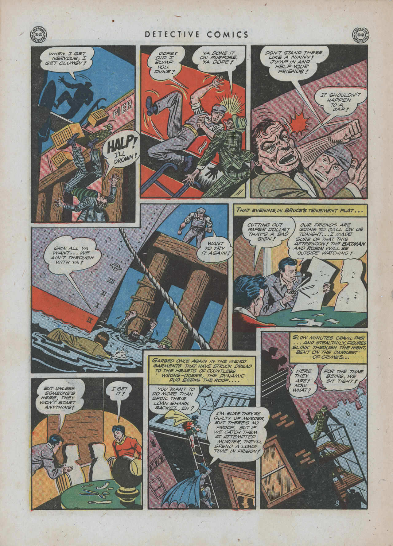 Read online Detective Comics (1937) comic -  Issue #88 - 10
