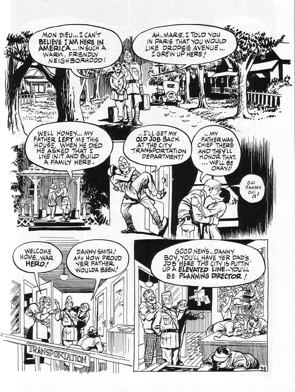 Read online Dropsie Avenue, The Neighborhood comic -  Issue # Full - 35