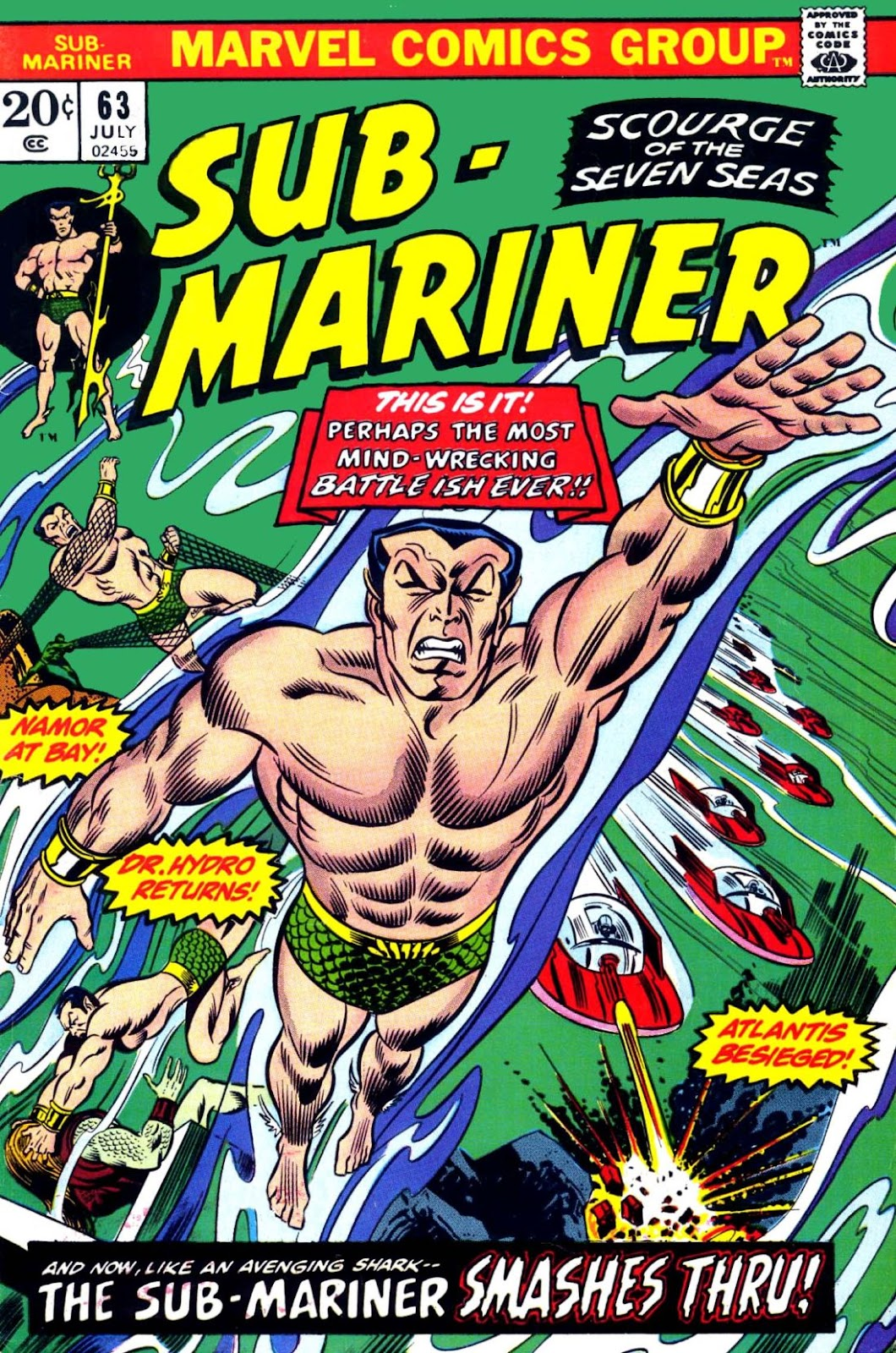 The Sub-Mariner 63 Page 1