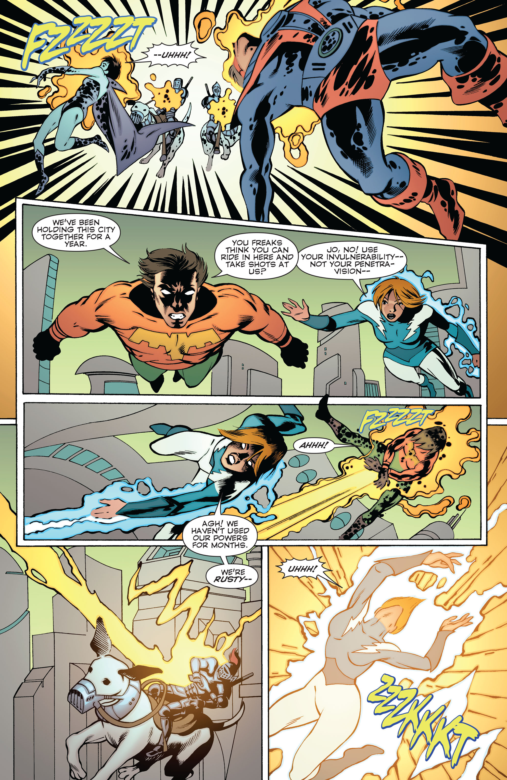 Read online Convergence Superboy and the Legion of Super-Heroes comic -  Issue #2 - 11