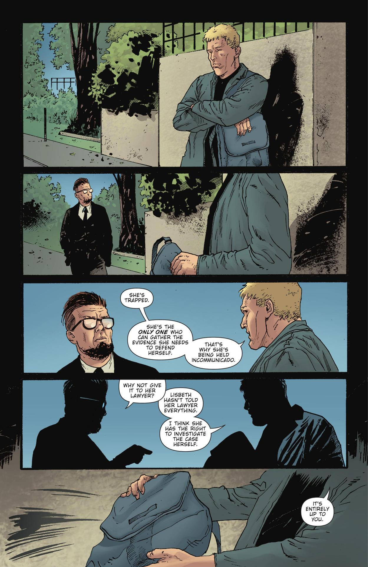 Read online The Girl Who Kicked The Hornet's Nest comic -  Issue # TPB - 149