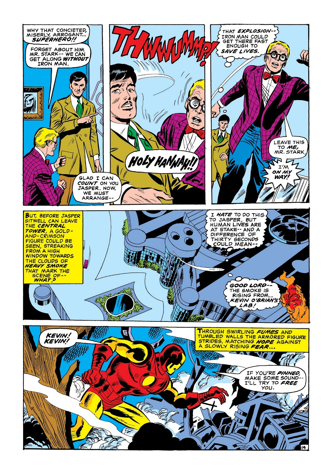 Read online Marvel Masterworks: The Invincible Iron Man comic -  Issue # TPB 7 (Part 2) - 62