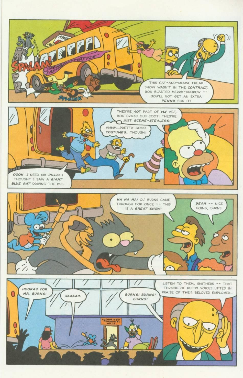 Read online Simpsons Comics comic -  Issue #5 - 8