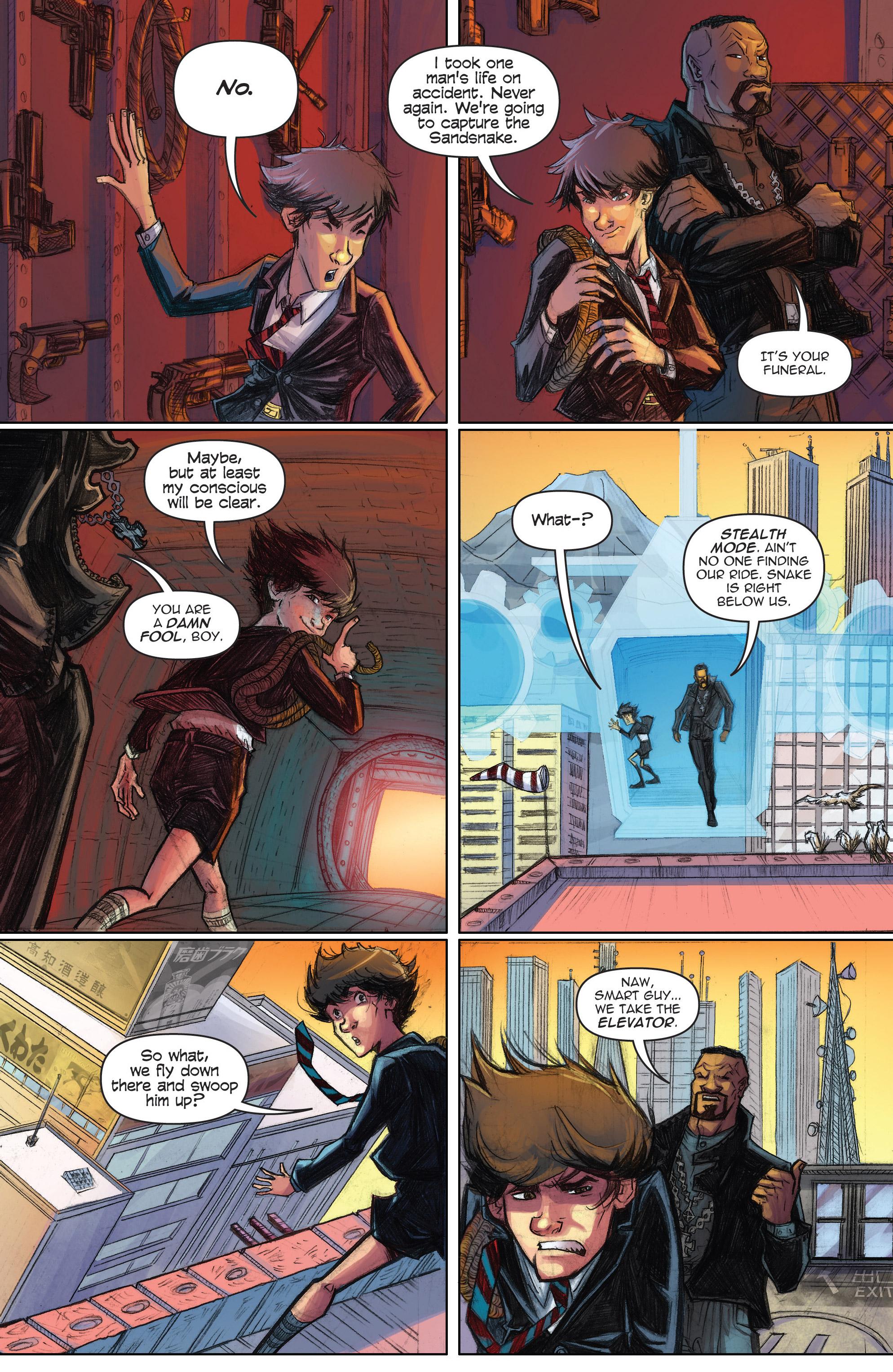 Read online Infinite Seven comic -  Issue #3 - 16