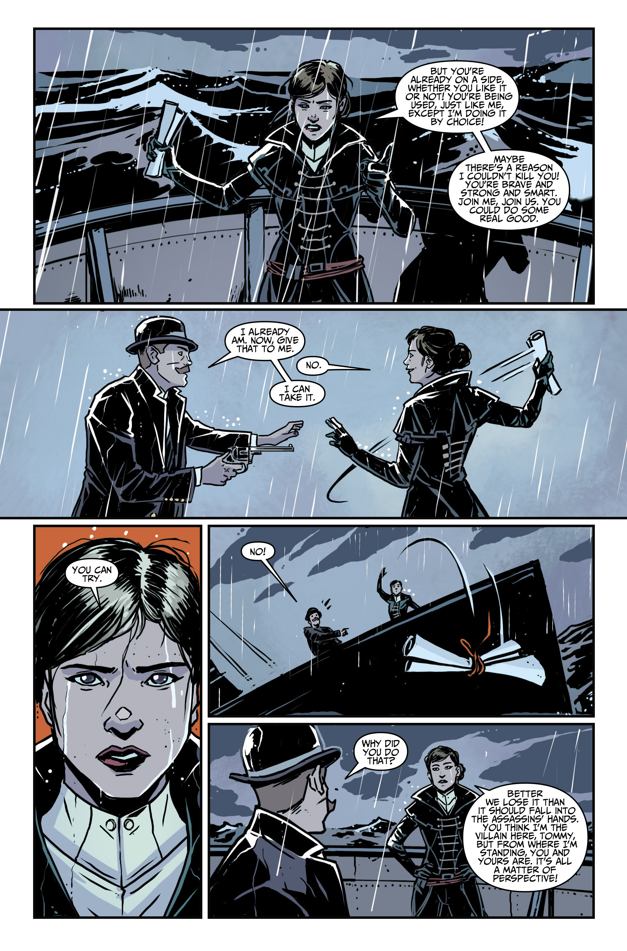 Read online Assassin's Creed: Locus comic -  Issue #4 - 23