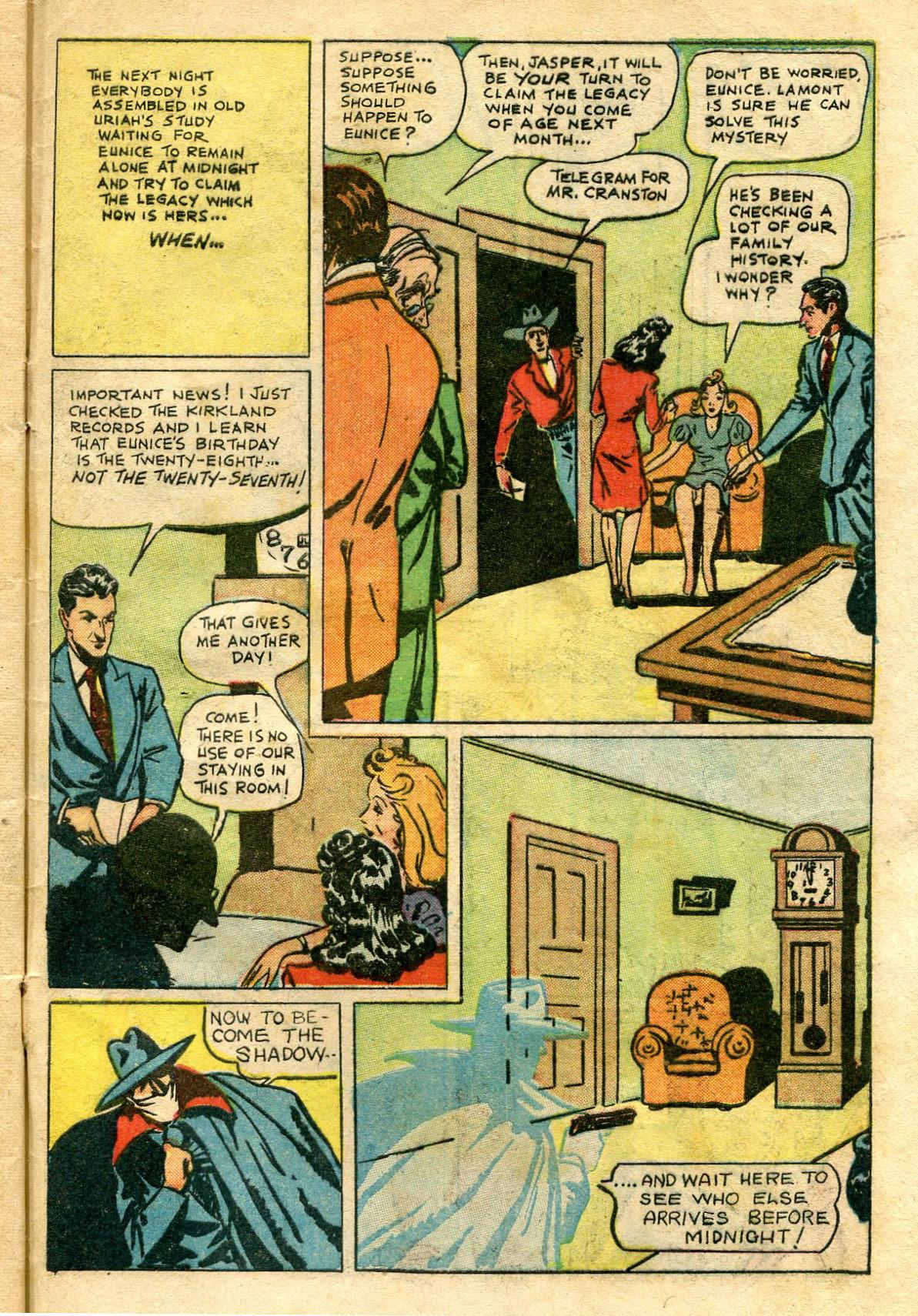Read online Shadow Comics comic -  Issue #65 - 47