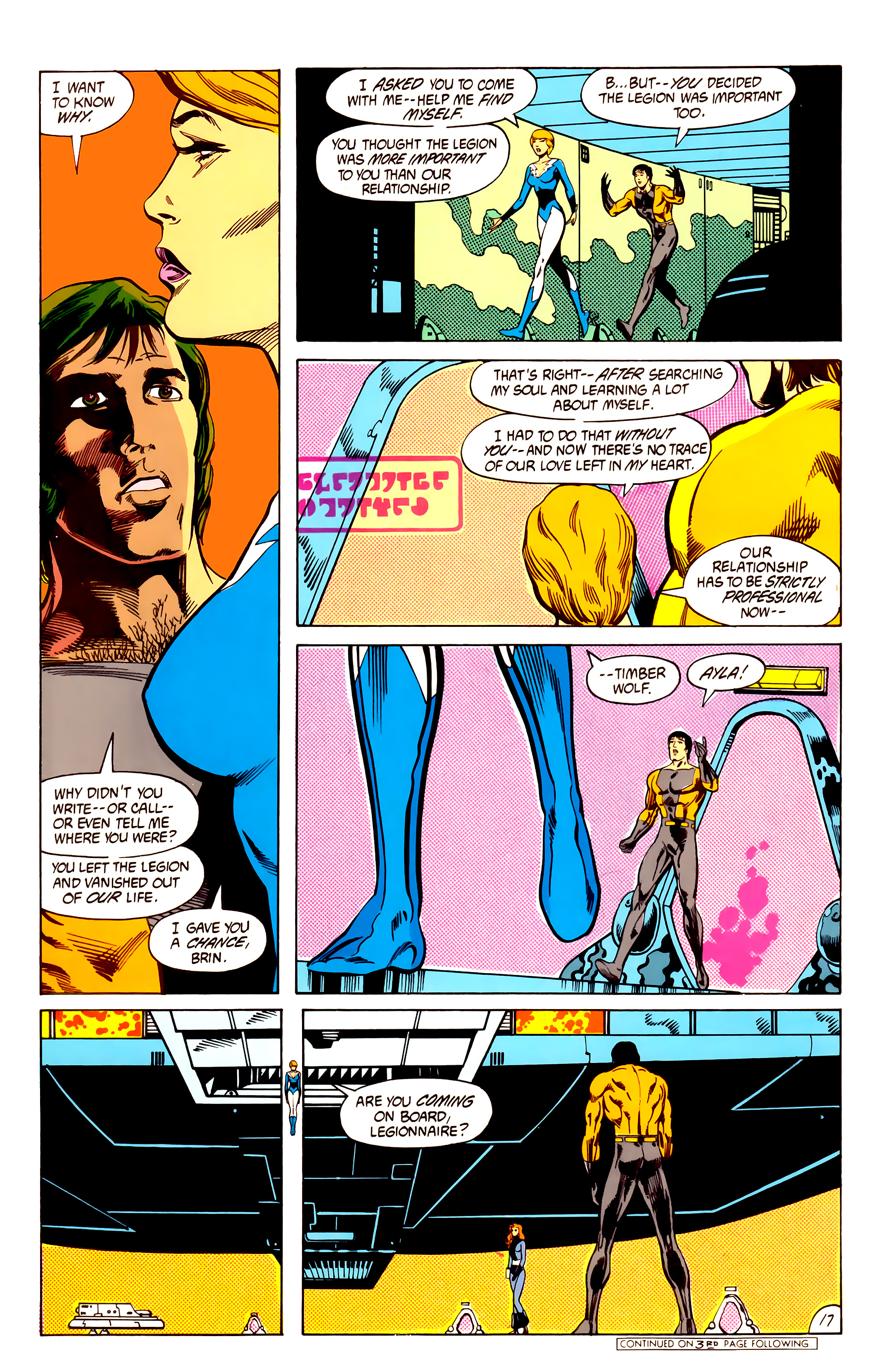 Legion of Super-Heroes (1984) 7 Page 18