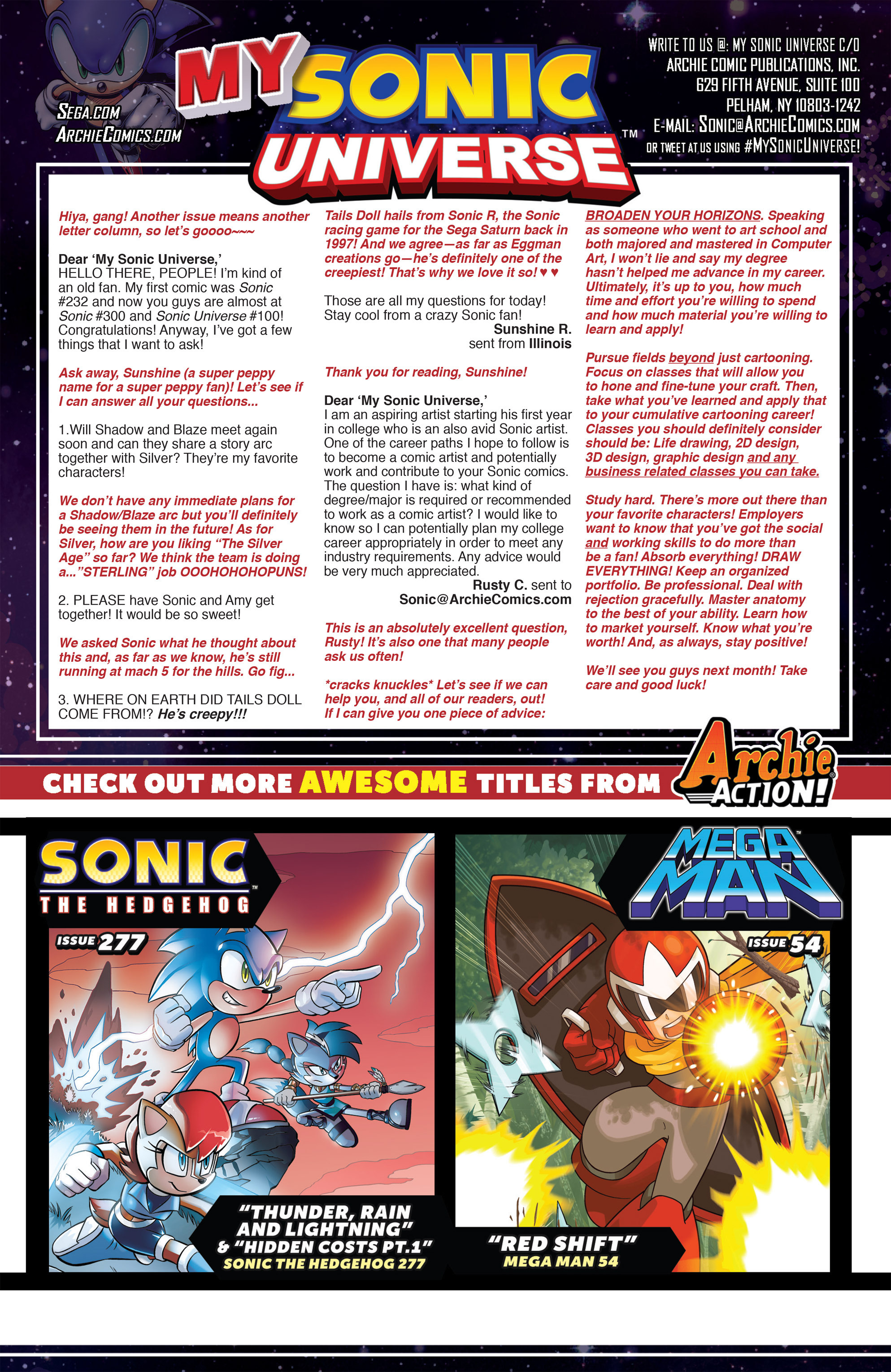 Read online Sonic Universe comic -  Issue #80 - 24