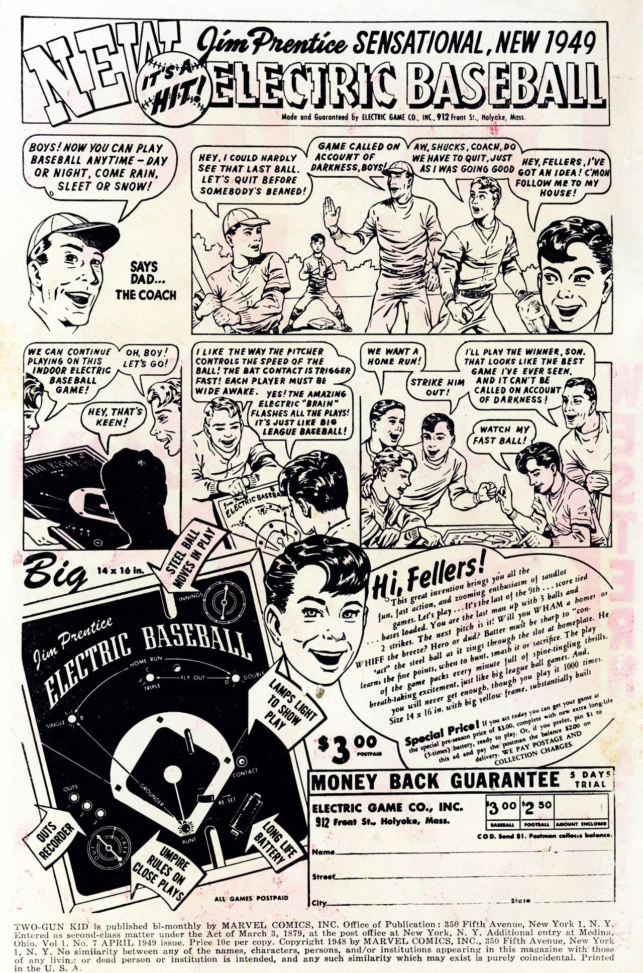 Read online Two-Gun Kid comic -  Issue #7 - 2
