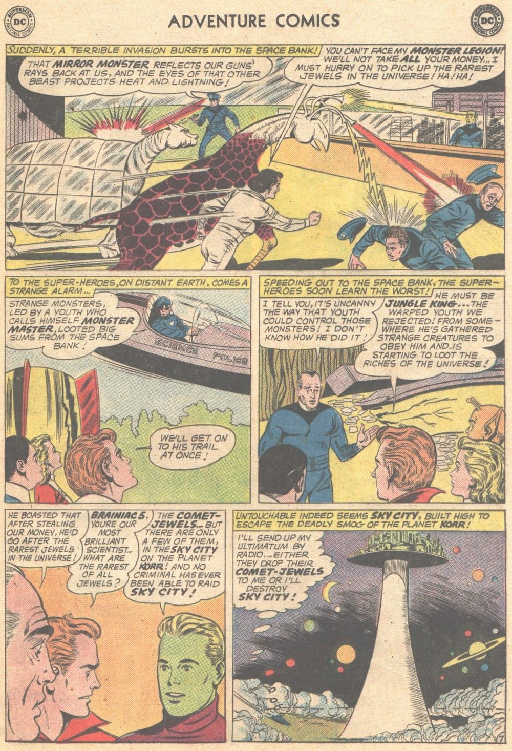 Read online Adventure Comics (1938) comic -  Issue #309 - 9