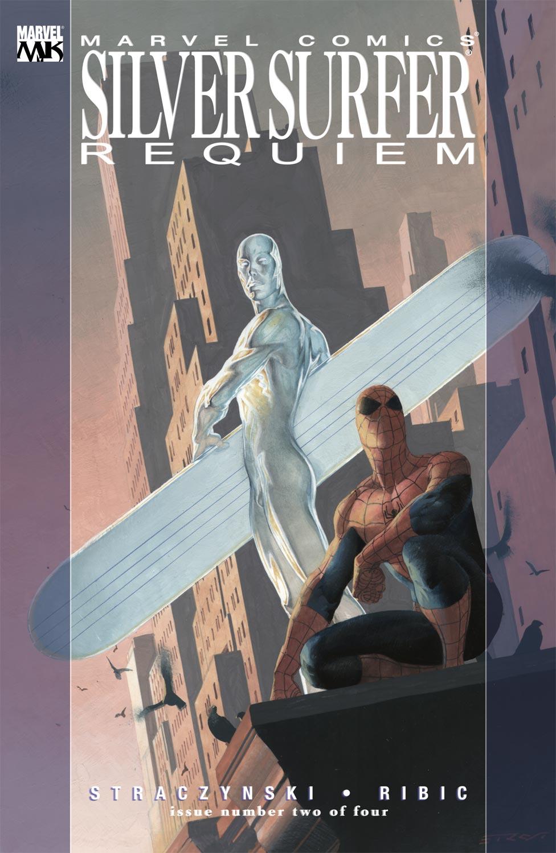 Read online Silver Surfer: Requiem comic -  Issue #2 - 2