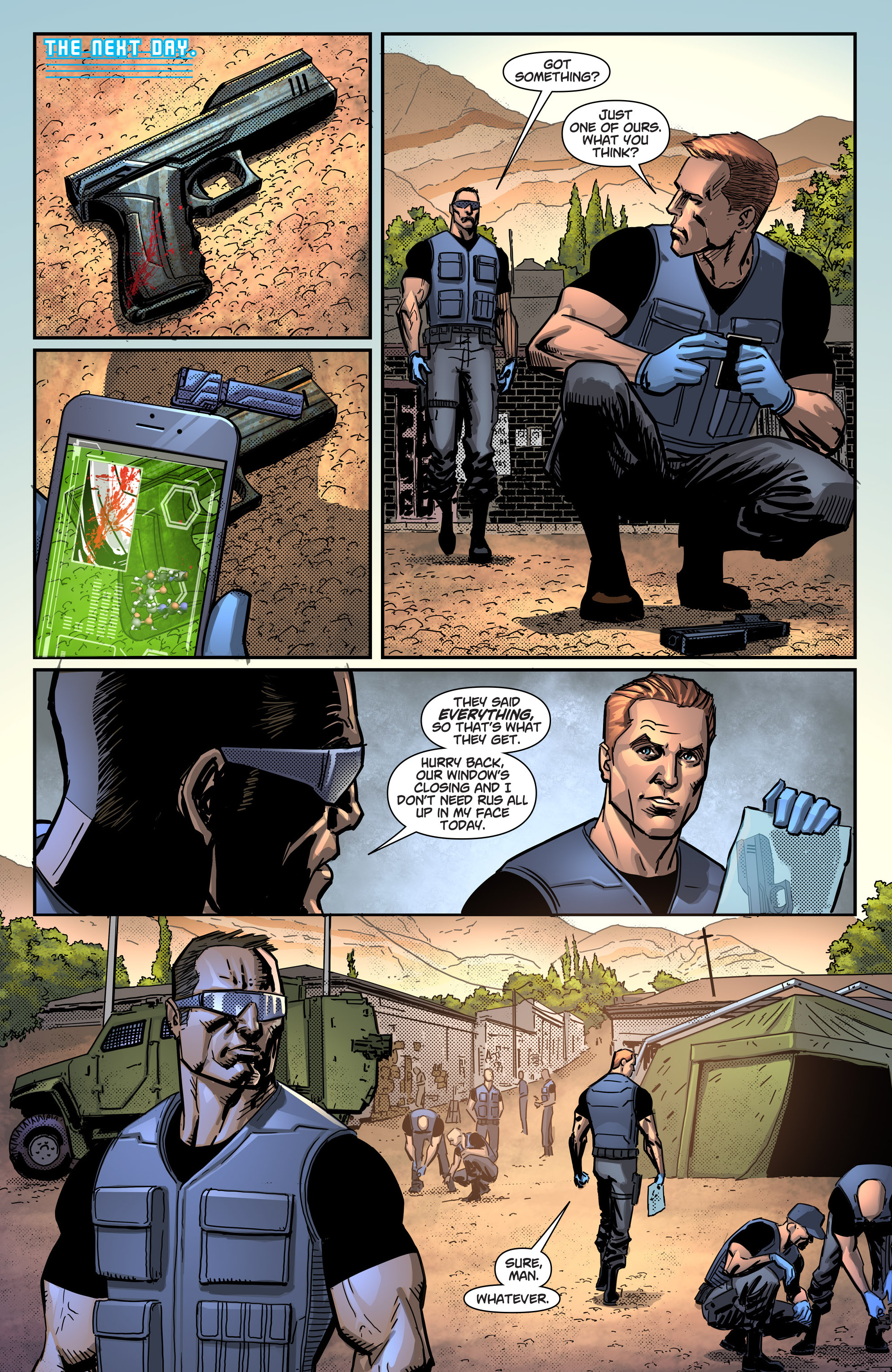 Read online Noble comic -  Issue #1 - 23