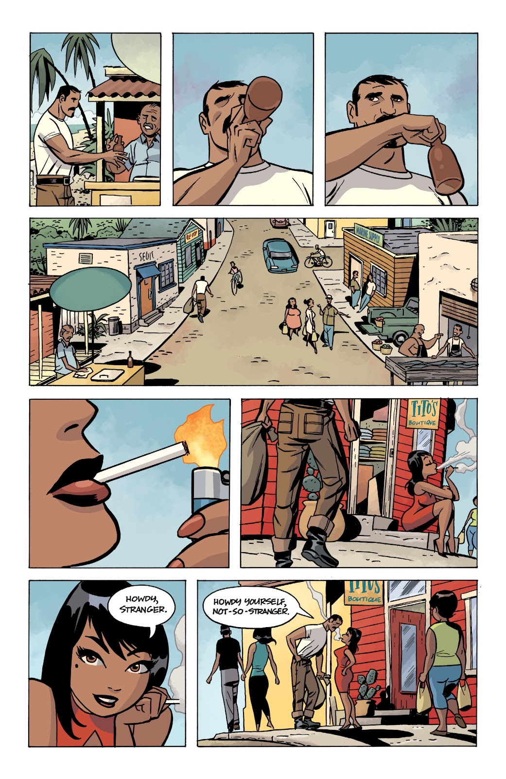 Read online The Twilight Children comic -  Issue #1 - 4