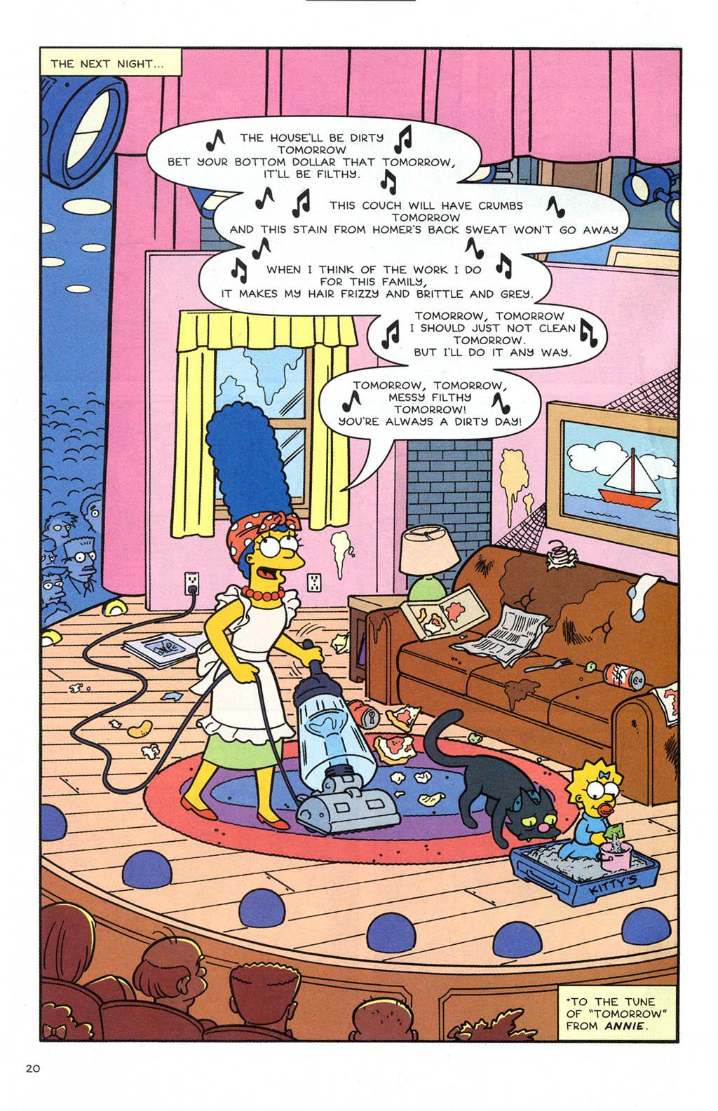 Read online Simpsons Comics comic -  Issue #106 - 21