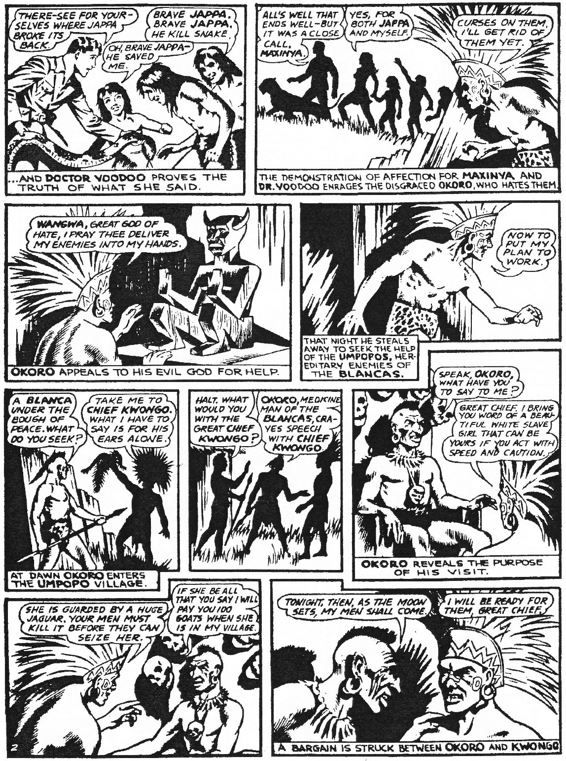 Read online Men of Mystery Comics comic -  Issue #84 - 216