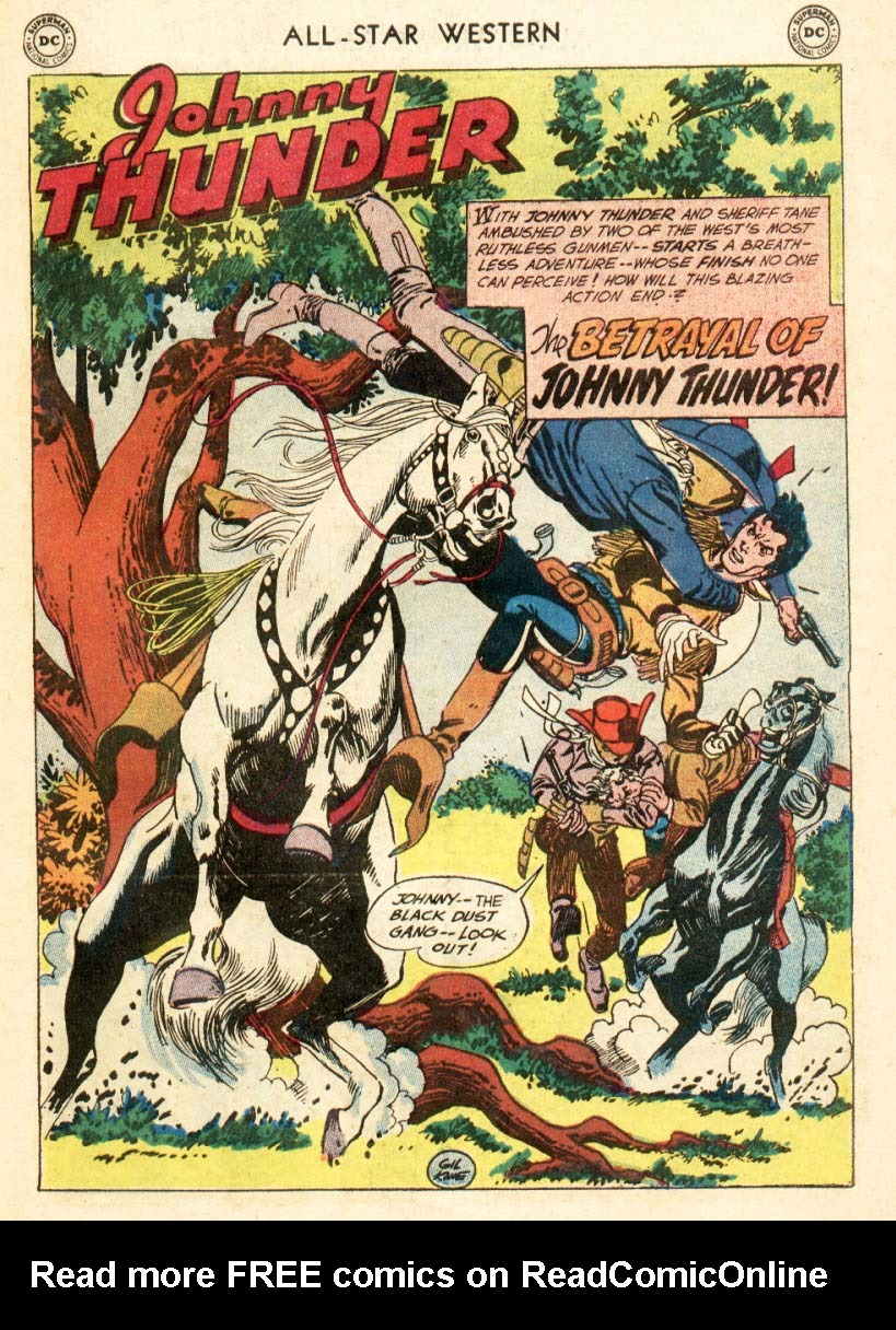 Read online All-Star Western (1951) comic -  Issue #97 - 23